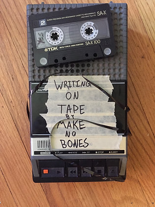 Writing on Tape physical cassetteTape