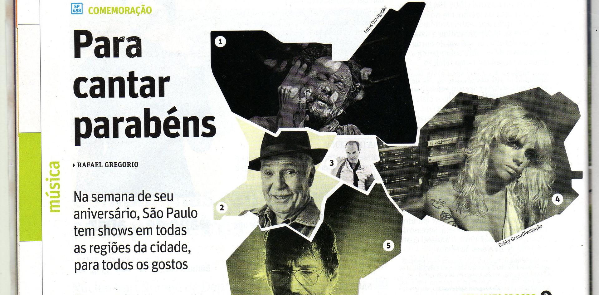 Revista Sao Paulo 2013