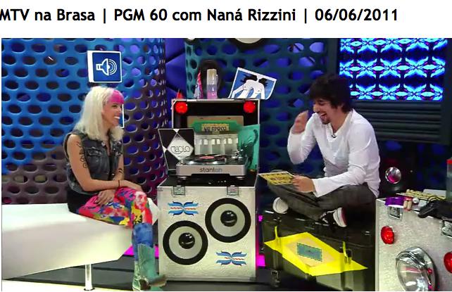MTV NA BRASA 2011