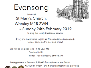 Come and Sing - Choral Evensong