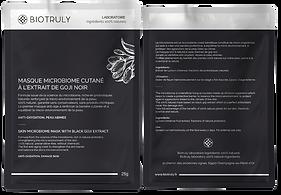 Masque au goji noir | BIOTRULY