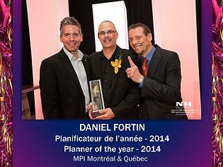 Planner of the year | MPI Montreal | 2014