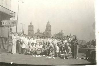 Voyage Fleury, Groupe au Mexique en 1978