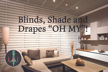 """Blinds, Shade and Drapes """"Oh My"""""""