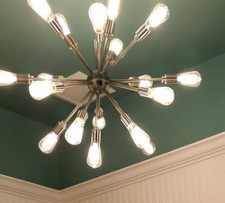 Bathroom accent lighting