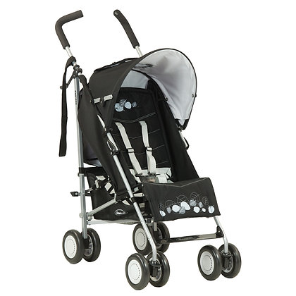 steelcraft express black stroller