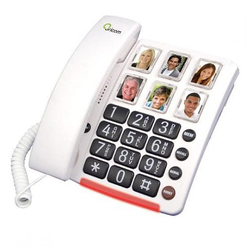 Amplified Phone with Picture Dialing