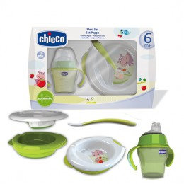 chicco weaning meal set 6M+
