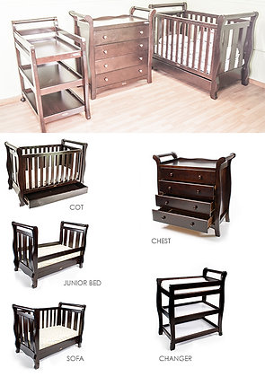 LOVE N CARE SLEIGH COT PACKAGE