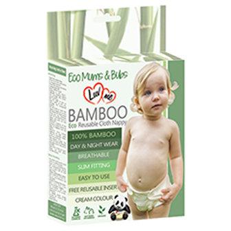 Eco Bamboo Reusable Cloth Nappies