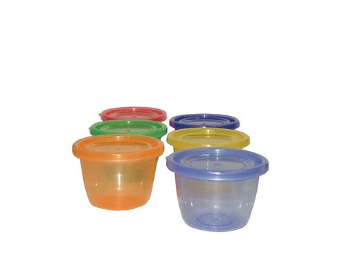 Lose or Re-Use Snack Cups 6pk