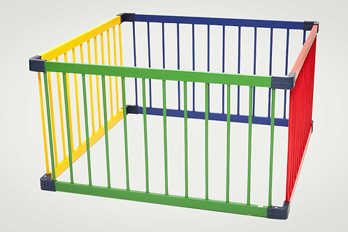 Coloured Play Pen - Square