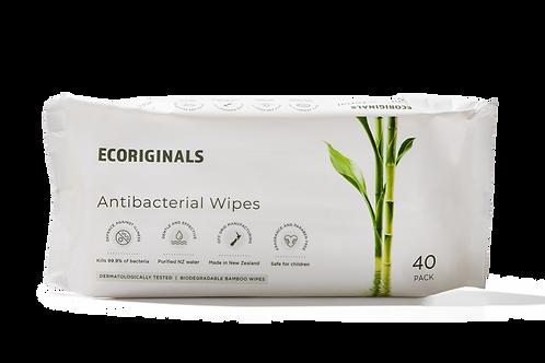 6 Antibacterial Wipe Packs