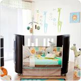 living textiles 6-piece nursery set