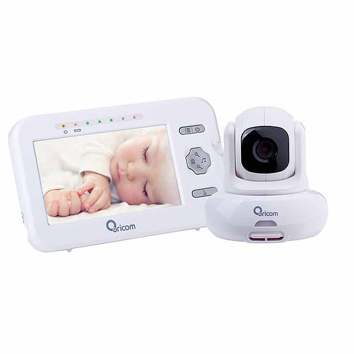 4.3″ Digital Video Baby Monitor with Pan-Tilt Camera