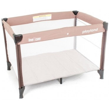 love n care playland portable cot