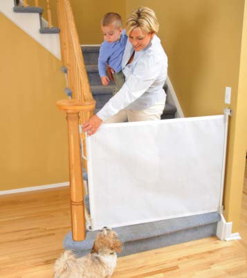 ROLLAGUARD - DOORWAY - STAIRS SAFETY BARRIER