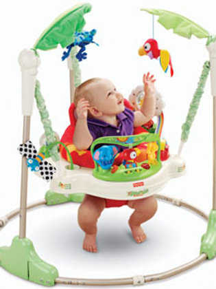 JOLLY JUMPER ACTIVITY EXERCISER ON A FREE STANDING
