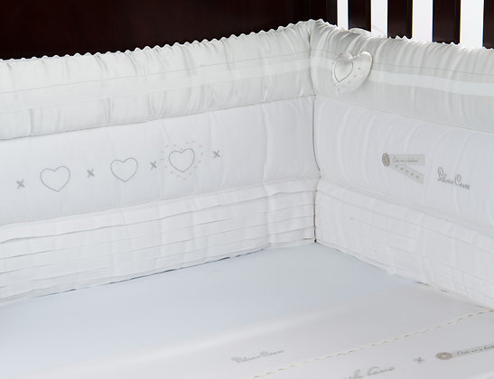 silver cross luxury cot bumper