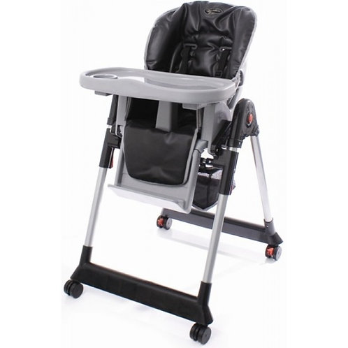 HEIGHT ADJUSTABLE HIGHCHAIR - LOWCHAIR ON WHEELS