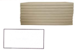 Fitted Sheet for Ultra Firm Rest Mat - 120cm x 60cm