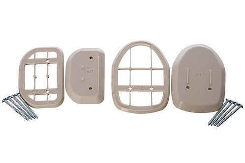 Spacers for Retractable Gate