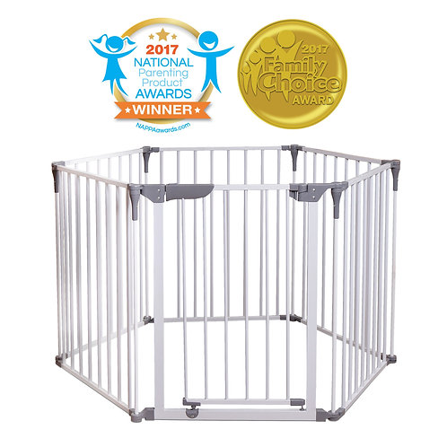 3-in-1 Convertible Play-Pen Gate
