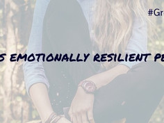 10 things emotionally resilient people do