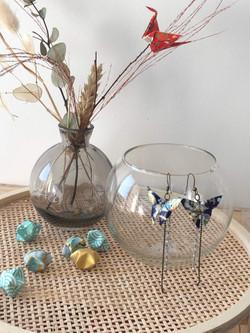 Soya Bean Origami - Boucles d'oreilles - Papilons 002.jpeg