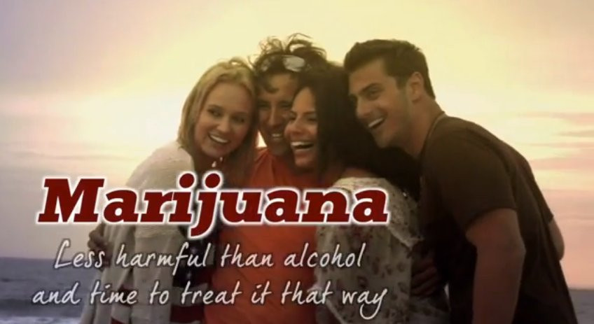 Marijuana can help people trying to cut back on drinking.