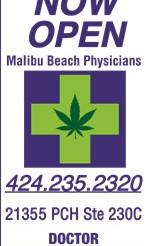 Medical Marijuana Recommendations in Malibu, California