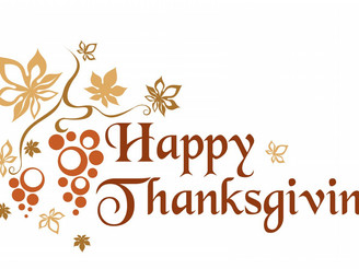 We will be open for Thanksgiving from 11:30am to 1:00pm!!!