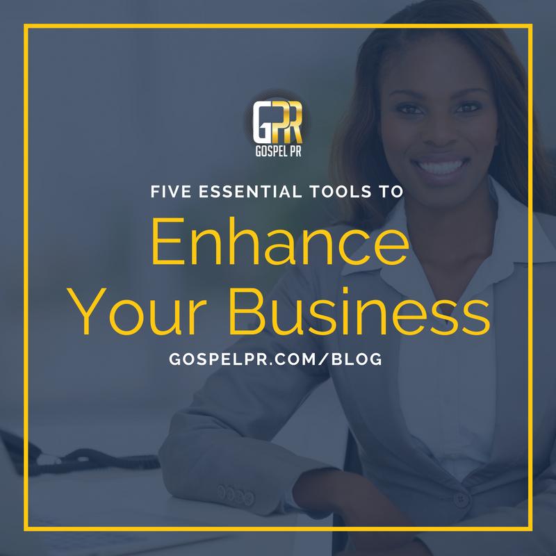 Gospel PR tools to enhance your business