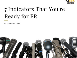 You're Ready for PR When ...