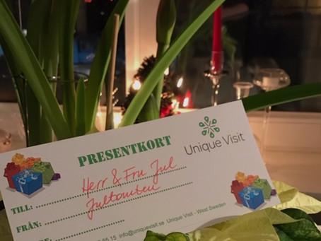 Ge bort ett unikt presentkort!