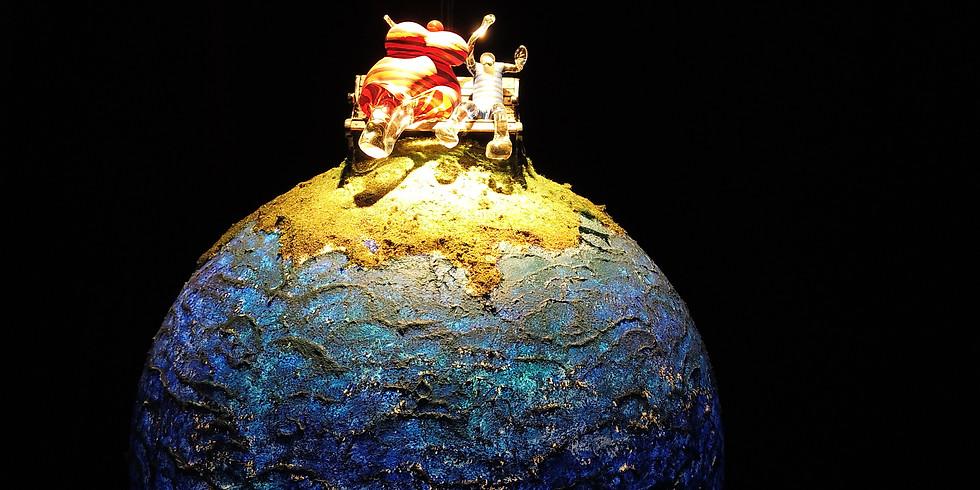SeaSide - Glaskonst i Bergrum & Konst i världsklass vid havet//Glass Art in cavern & Worldclass Art by the sea