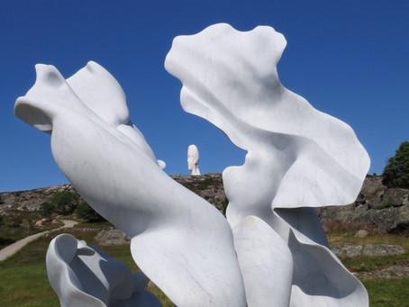 There is still time to visit  - Än finns tid att besöka - Pilane Sculpturepark 2019.