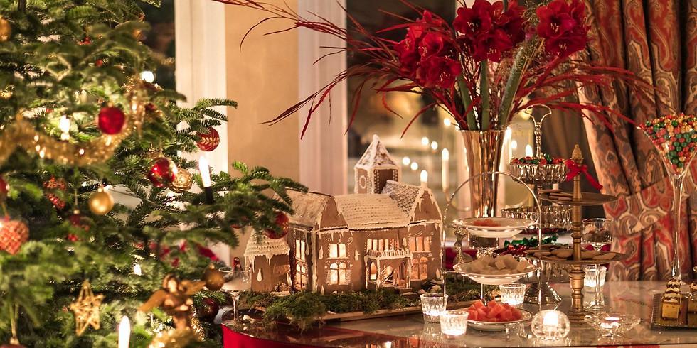 Daytour: luxury Christmas lunch - at fairytale Thorskogs Castle!