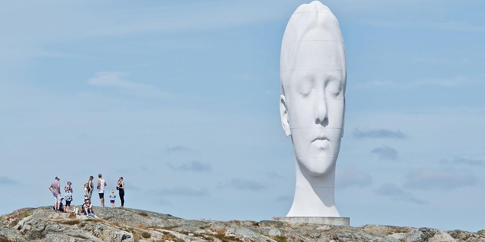 Tour Tjörn - Pilane Skulpturpark/Sculpture Park, island Härön & Sundsby Manor