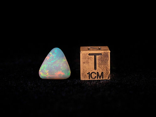 Polished Opal with Triangular Shape