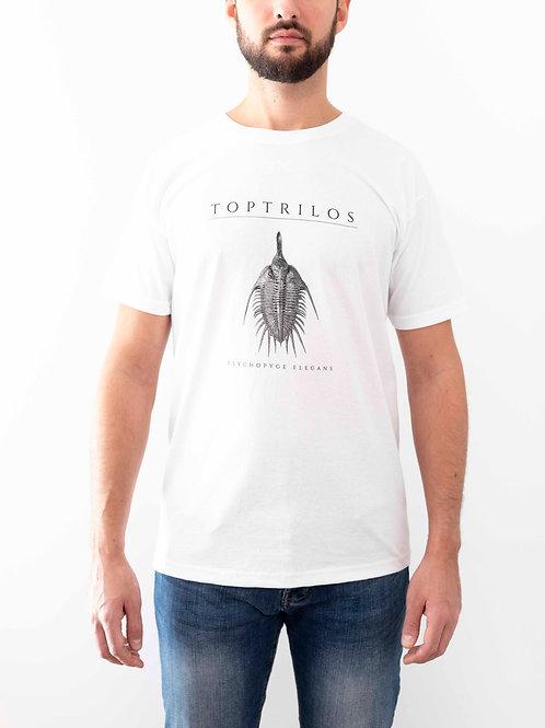 White T-shirt Psychopyge elegans Design