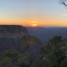 Sunsetting beauty at the South Rim