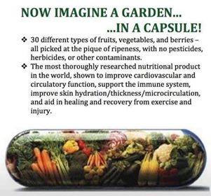 Garden in a capsule