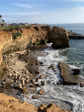 Sunset Cliffs, beautiful spot to picnic or just hang out