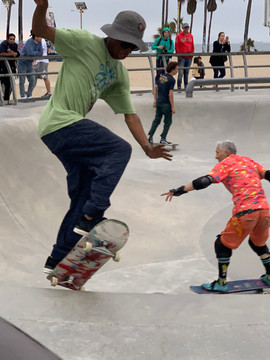 Venice Beach Skate Park - for a good show!