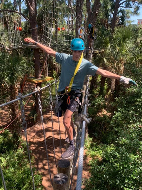 Everything You Need to Know About the Treetop Trek at the Brevard Zoo