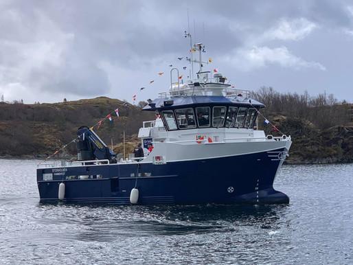 Søsterskipet til Lysholmen levert