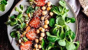 Quinoa and roasted Chickpea salad