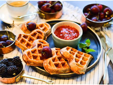 Plant-based Waffles