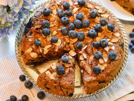 Blueberry-Nut Cake